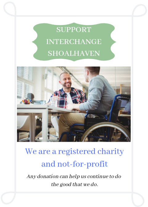 Support Interchange Shoalhaven