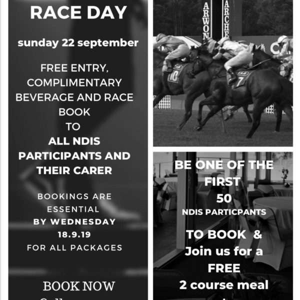 Accessible Race Day – 22nd Sep