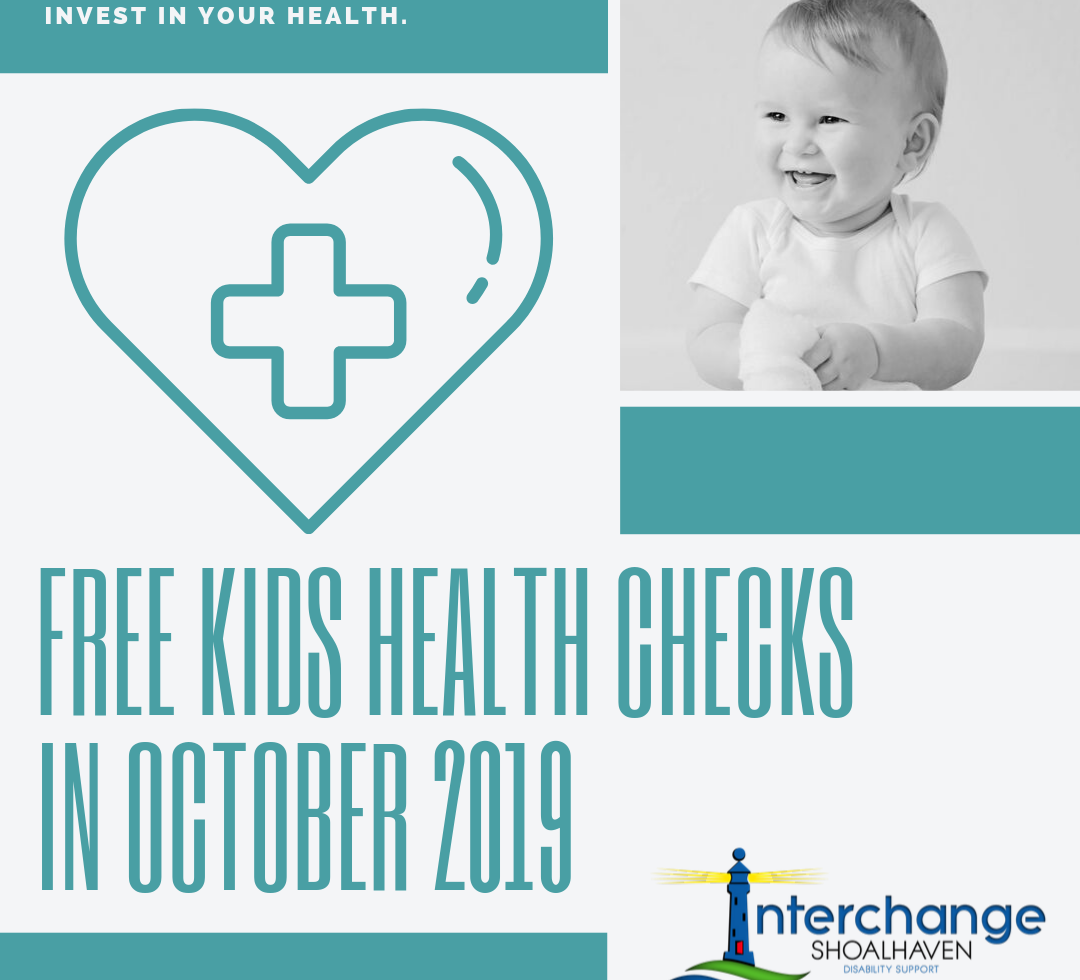 FREE Health Checks for Children in October