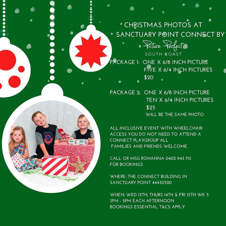 Picture Perfect South Coast will be hosting accessible family Christmas Photos